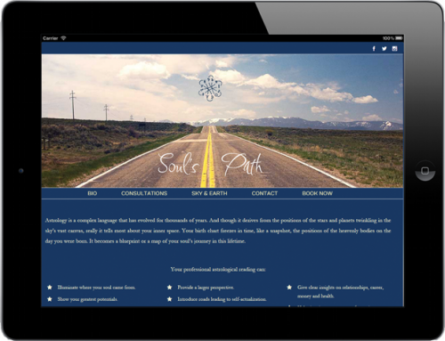 Web Design: Soul's Path Astro